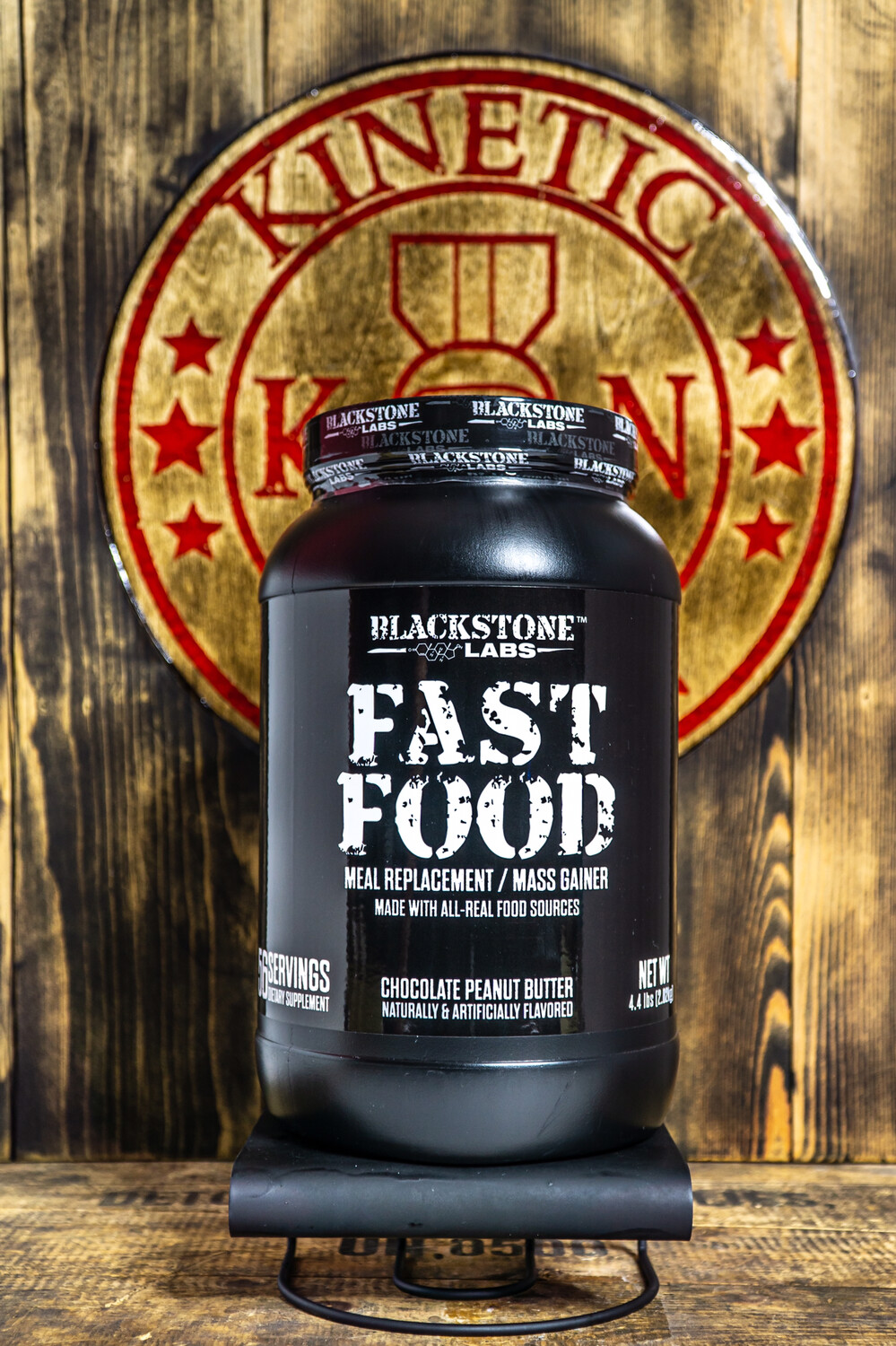 Blackstone Labs, Fast Food, 56 Servings, Chocolate Peanut Butter