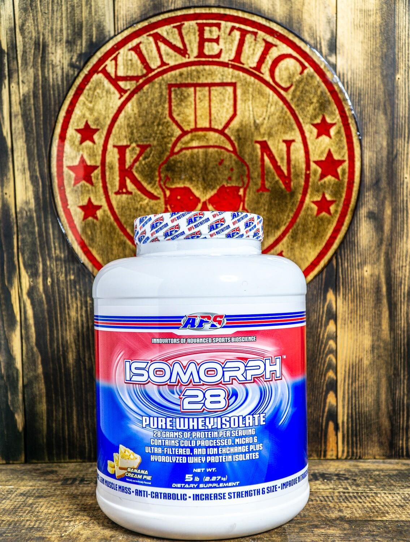 Aps, Isomorph, 28 Pure Whey Isolate, 66 Servings, 5Lb, Banana Cream Pie