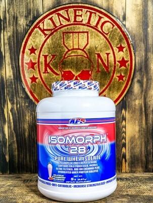 Aps, Isomorph, 28 Pure Whey Isolate, 66 Servings, 5Lb, Del Strawberry Milkshake