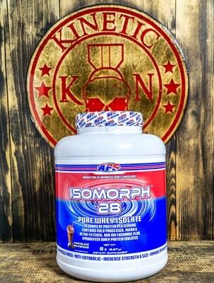 Aps, Isomorph, 28 Pure Whey Isolate, 66 Servings, 5Lb, Del Chocolate Milkshake