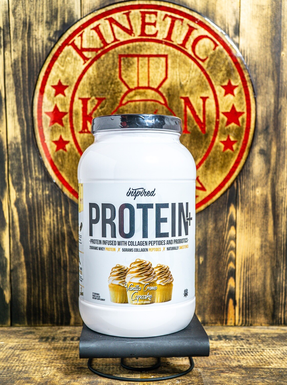 Inspired, Protein Vanilla Creme Cupcake, 27 Servings