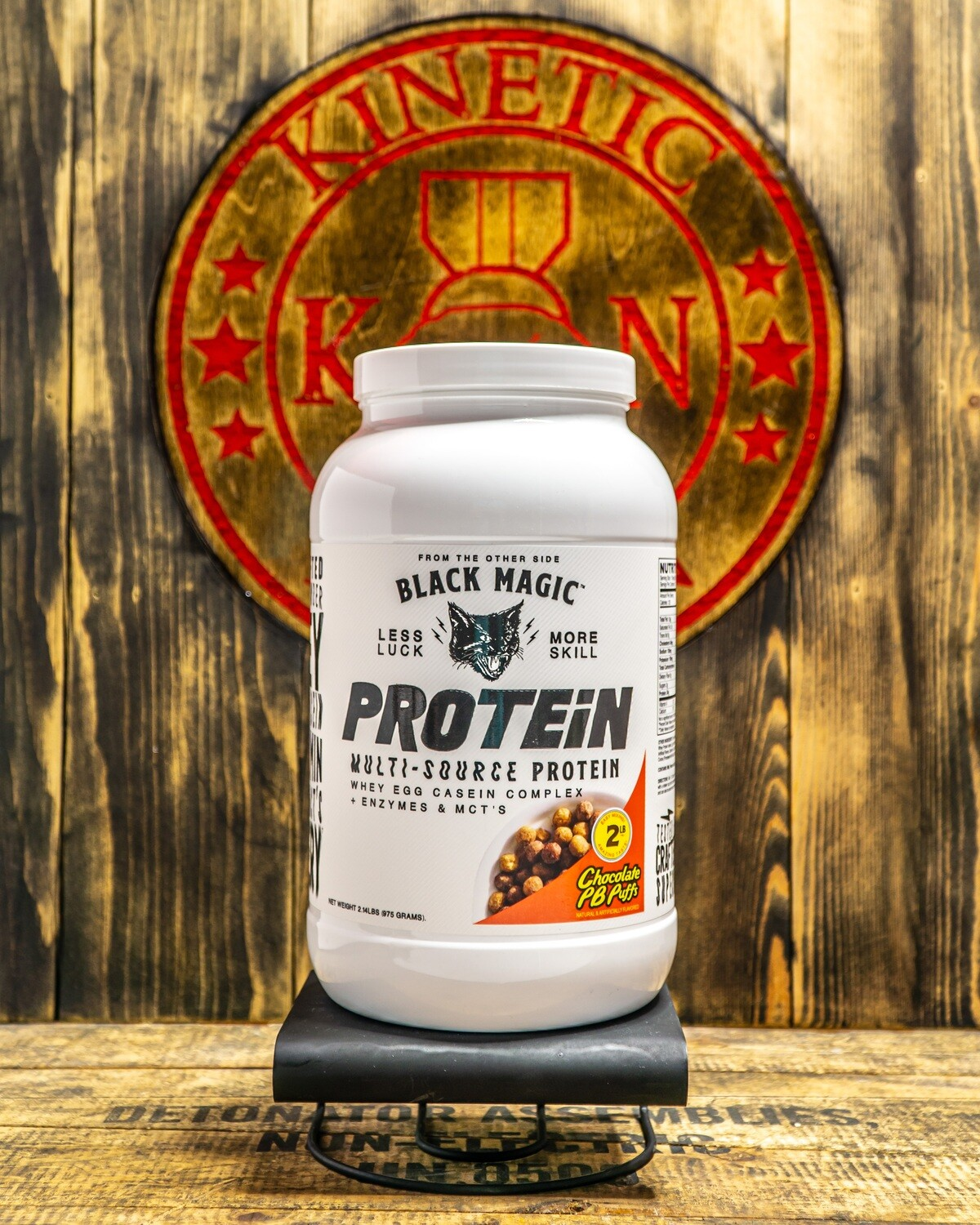 Black Magic, Multi-Source Protein, 25 Servings, 2Lb, Chocolate Pb Puffs