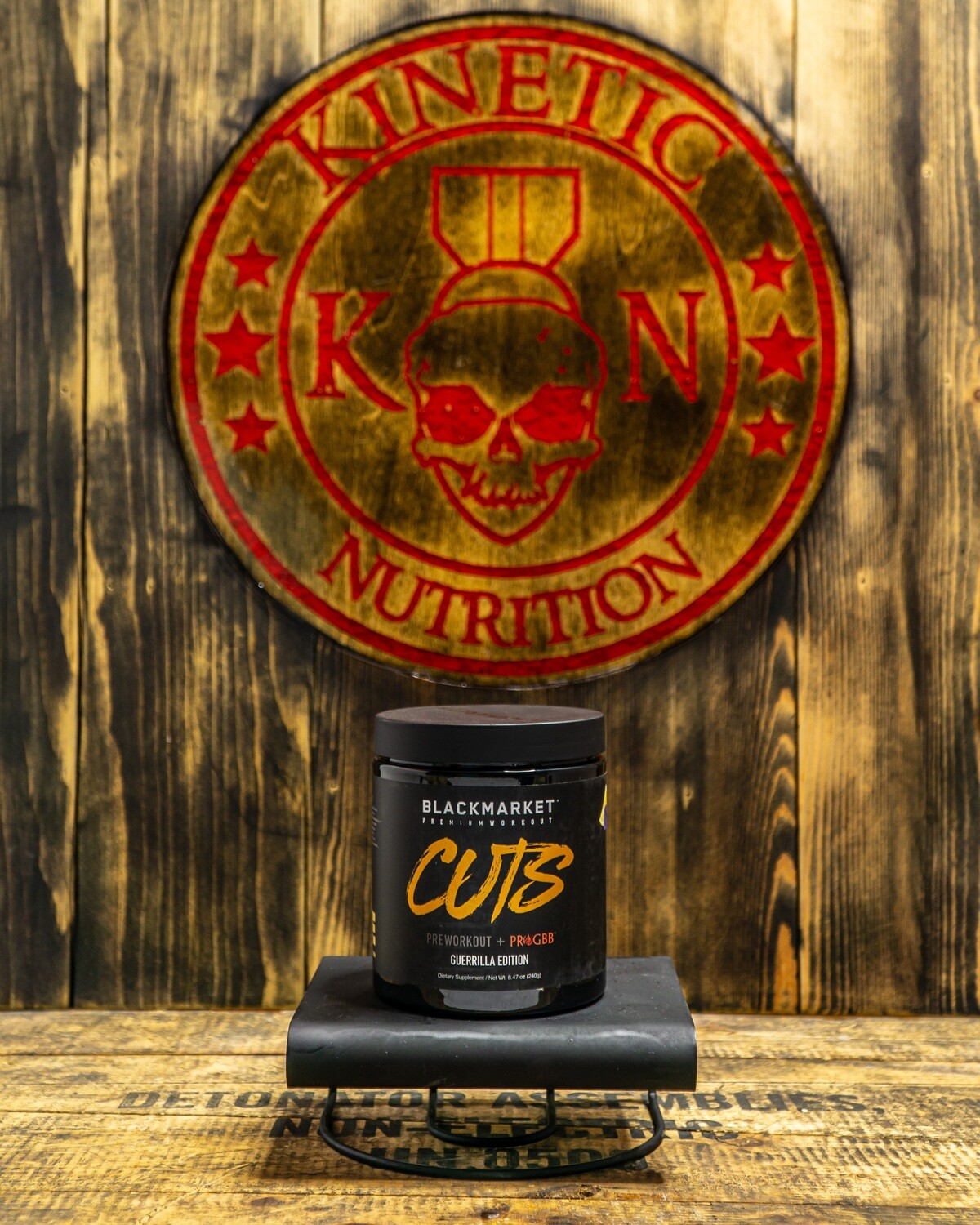Blackmarket, Cutz Guerilla Edition, 30 Servings, Blue Raz