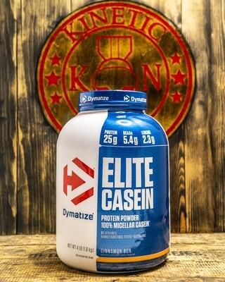 Dymatize, Elite Casein Protein, 51 Servings, 4Lb, Cinnamon Bun