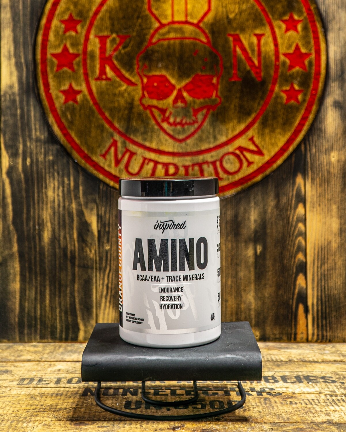 Inspired, Amino Bcaa/Eaa, Concord Candy, 30 Servings