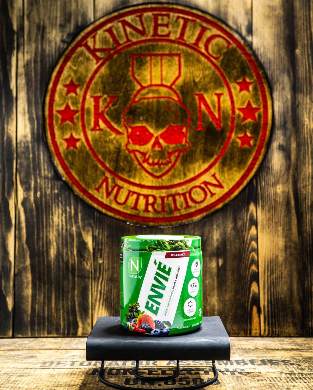 Nutrakey, Envie, Greens Multivitamin, Wild Berry, 35 Servings