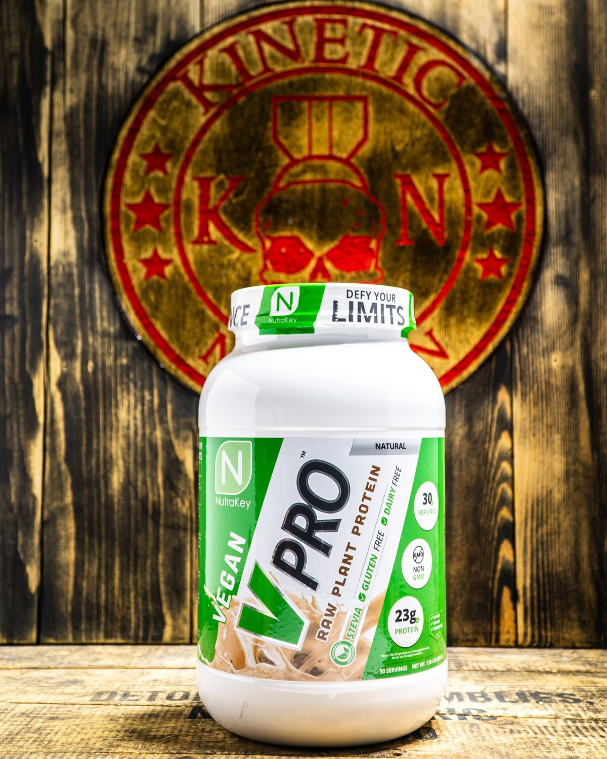 Nutrakey, Vpro, Raw Plant Protein, Natural, 2Lb