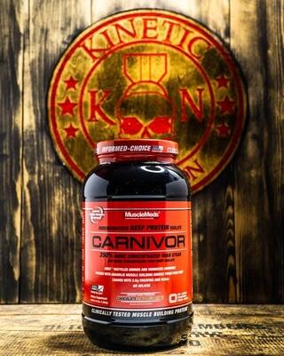 Musclemeds, Carnivor, Beef Protein, 2.25 Lb, Chocolate Peanut Butter