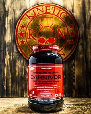 Musclemeds, Carnivor, Beef Protein, 2.25 Lb, Vanilla Carmel