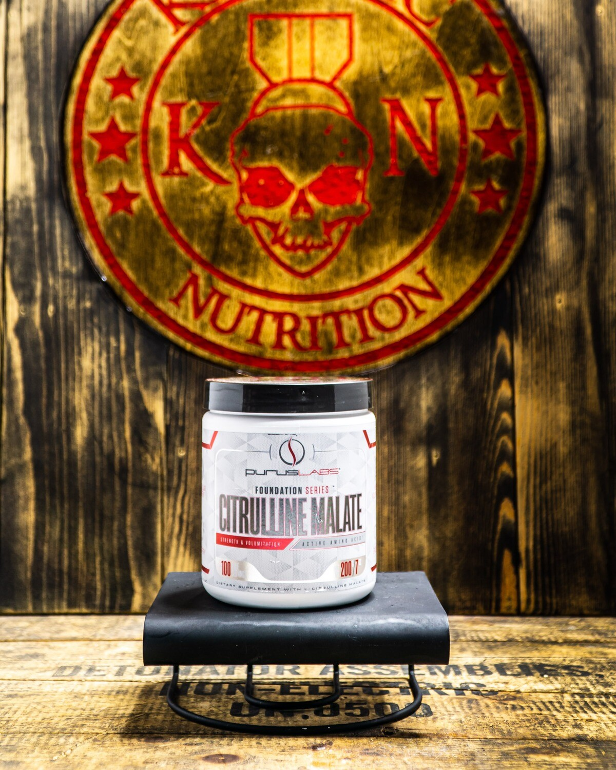 Purus Labs, Citruline Malate, 100 Servings