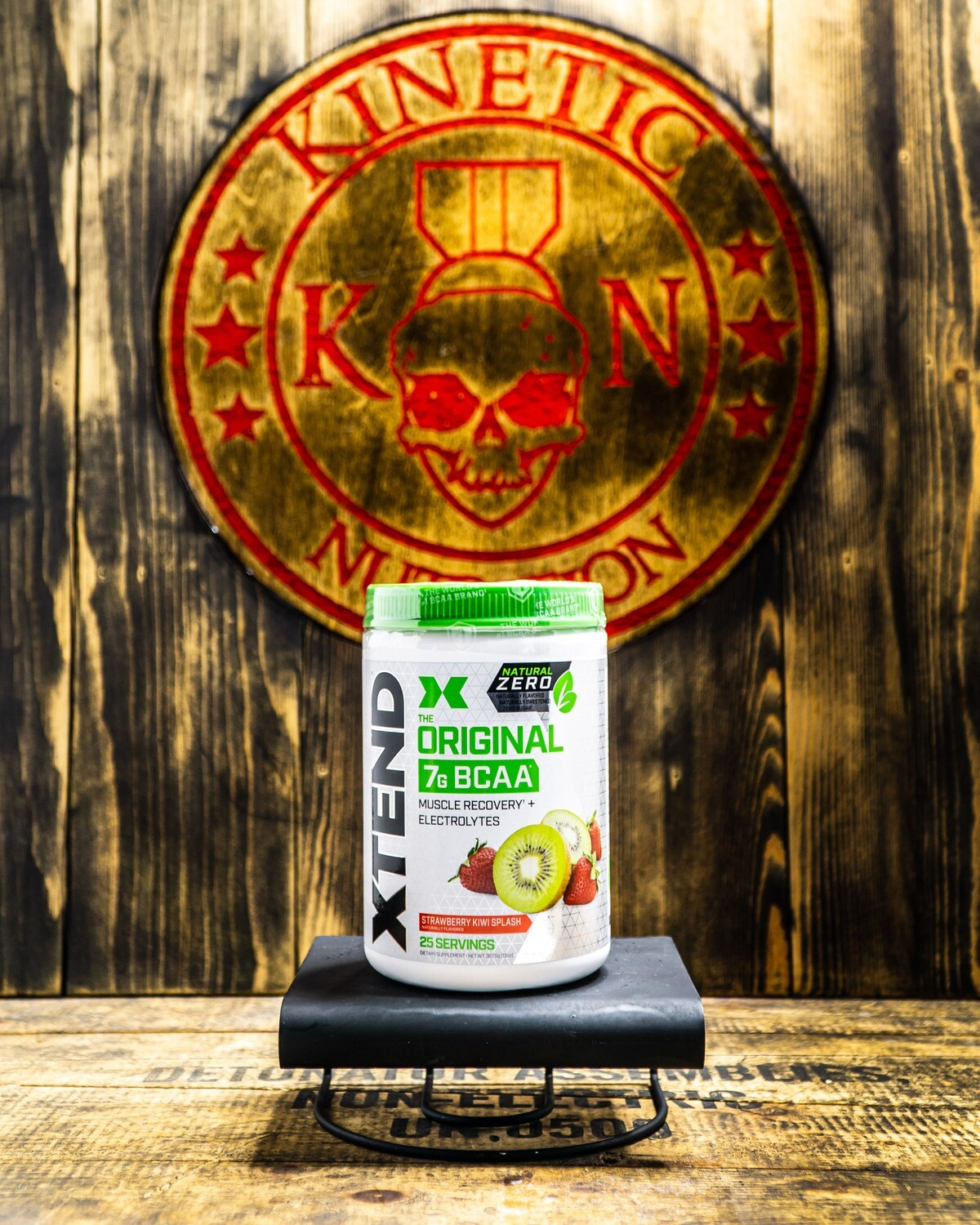 Xtend, Nat Zero BCAA, 25 Servings, Strawberry Kiwi Splash