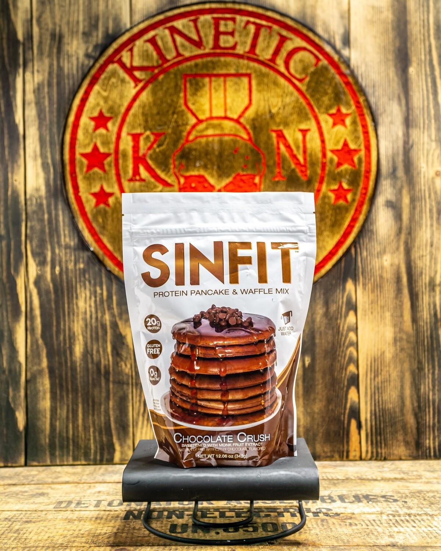 SINFIT, Pancake Mix, Chocolate Crush, 12.06 Oz