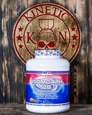 Aps, Isomorph, 28 Pure Whey Isolate, 66 Servings, 5Lb, Cinnamon Graham Cracker
