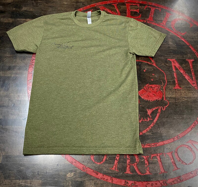 Kinetic Nutrition, Unisex T-Shirt (Military Green)