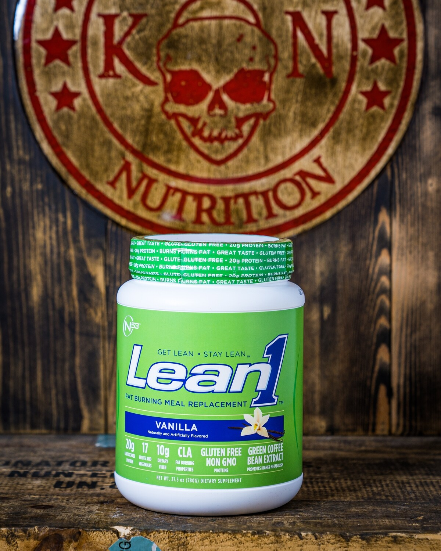 N53, Lean1, Meal Replacement, 15 Serv, Vanilla