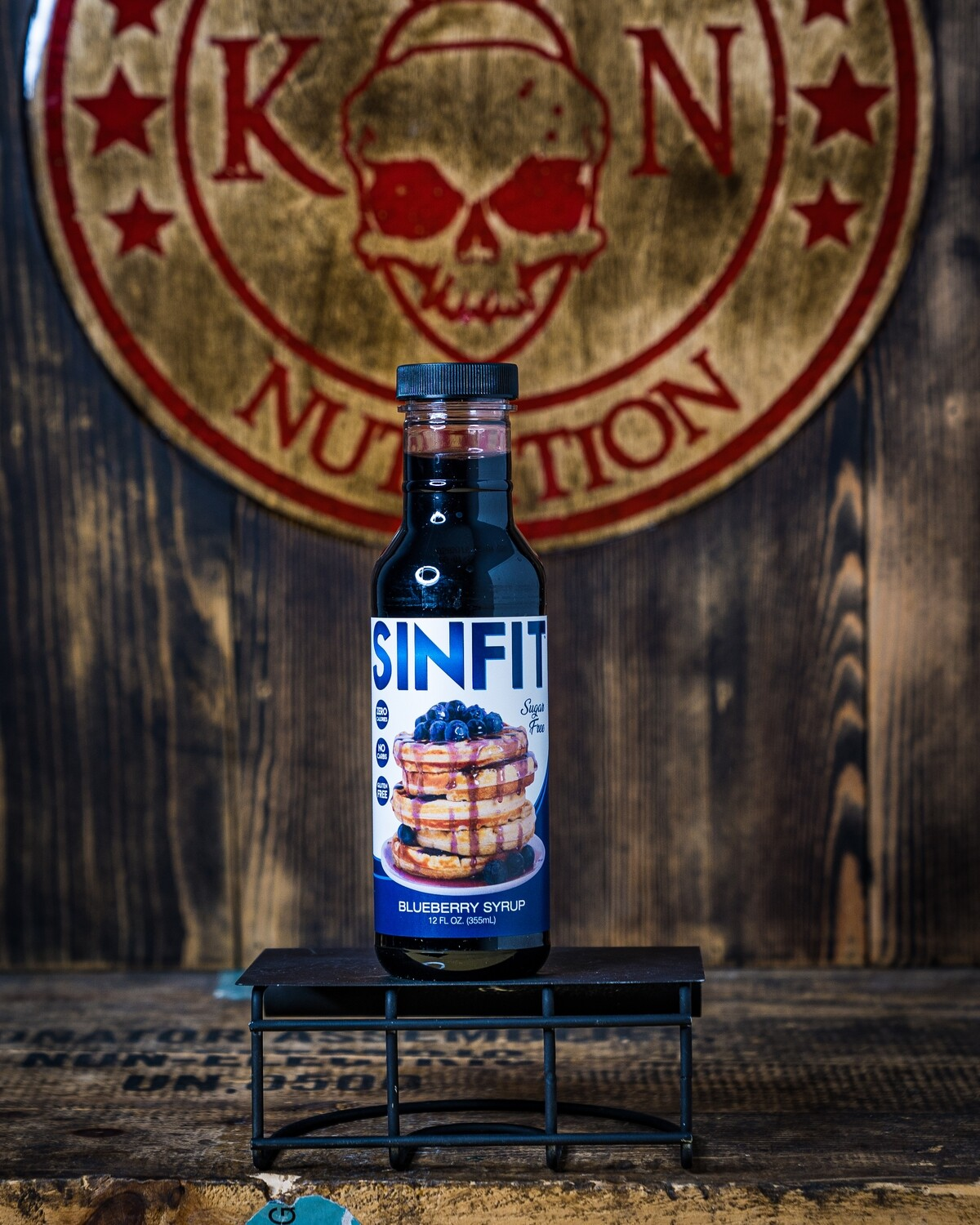 Sinfit, Blueberry Syrup,12 Fl Oz