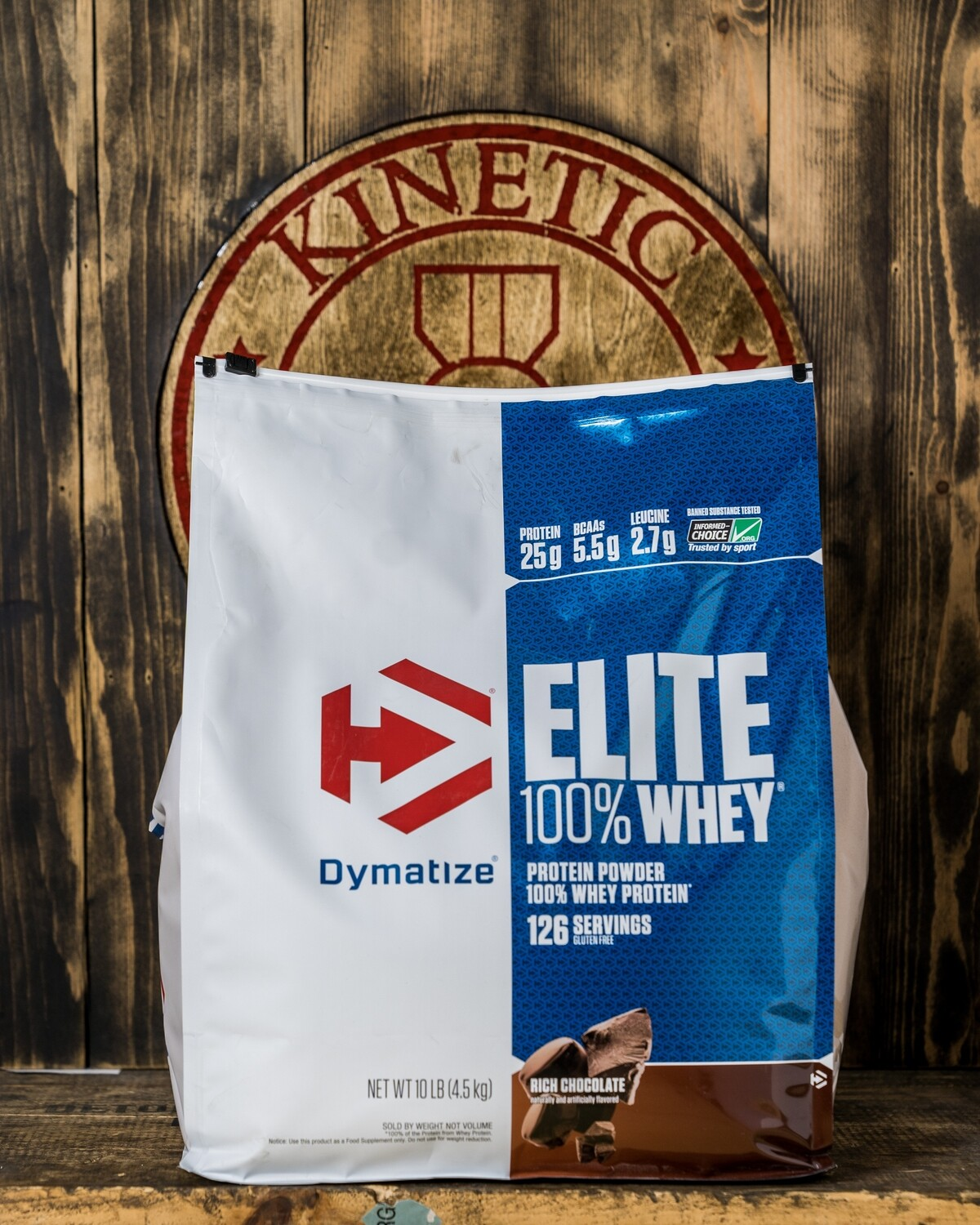 Dymatize, Elite Whey  Protein,  126 Servings, 10lb , Rich Chocolate