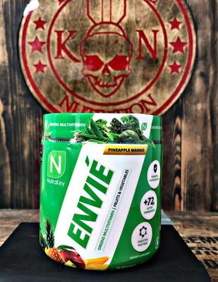 Nutrakey, Envie, Greens Multivitamin, Pineapple Mango, 35 Servings