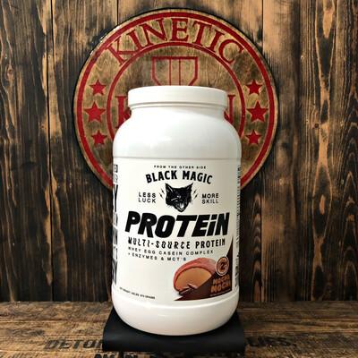 Black Magic, Multi-Source Protein, 25 Servings, 2LB, Mocha Mochi