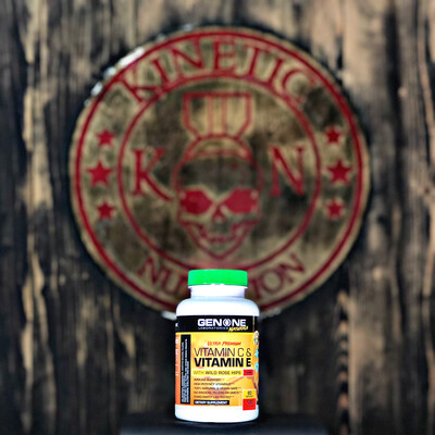 Genone, Vitamin C & E, 120caps
