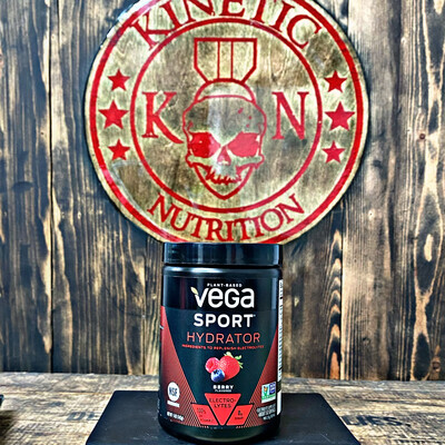 Vega Sport, Hydrator, 50 Servings, Berry