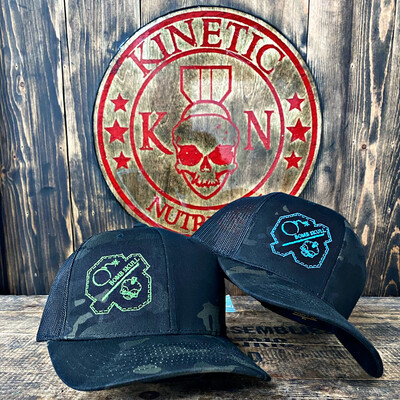 Bomb & Skull Stitched Patch Hat