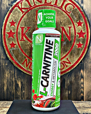 NutraKey, L-Carnitine 3000, 31 Servings, Delicious Watermelon