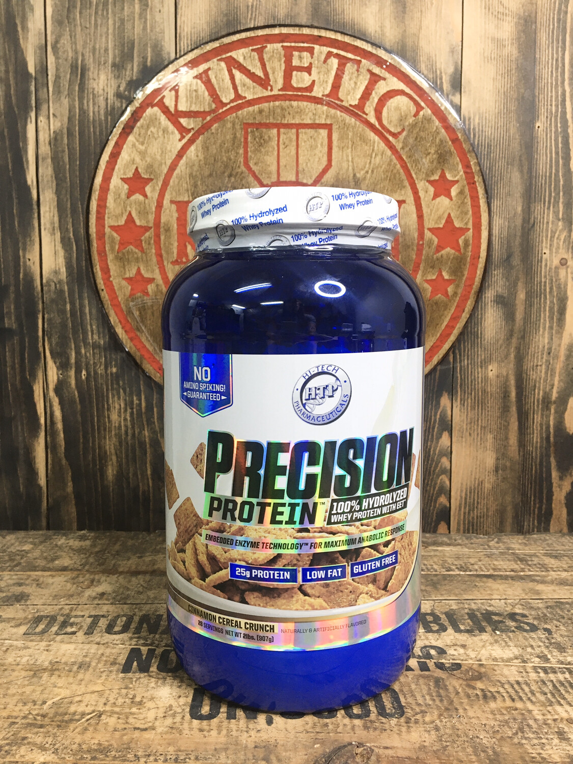 Htp, Precision Protein, 28 Servings, 2lb, Cinnamon Cereal Crunch