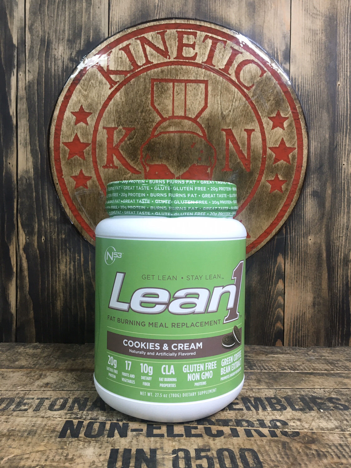 N53, Lean1, Fat Burning, Meal Replacement, 15 Serv, Cookies And Cream