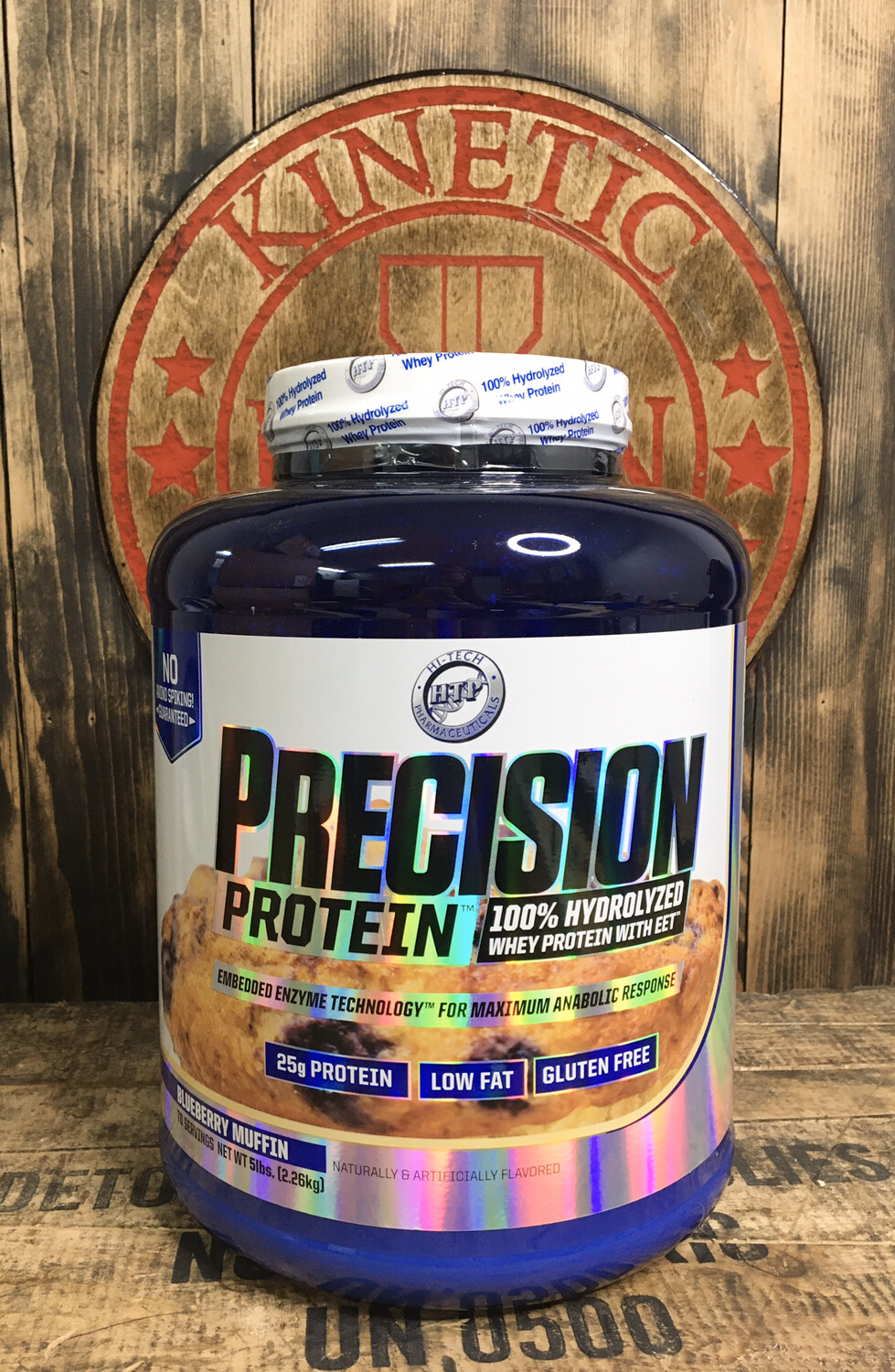 Htp, Precision Protein, 70 Servings, 5lb, Blueberry Muffin