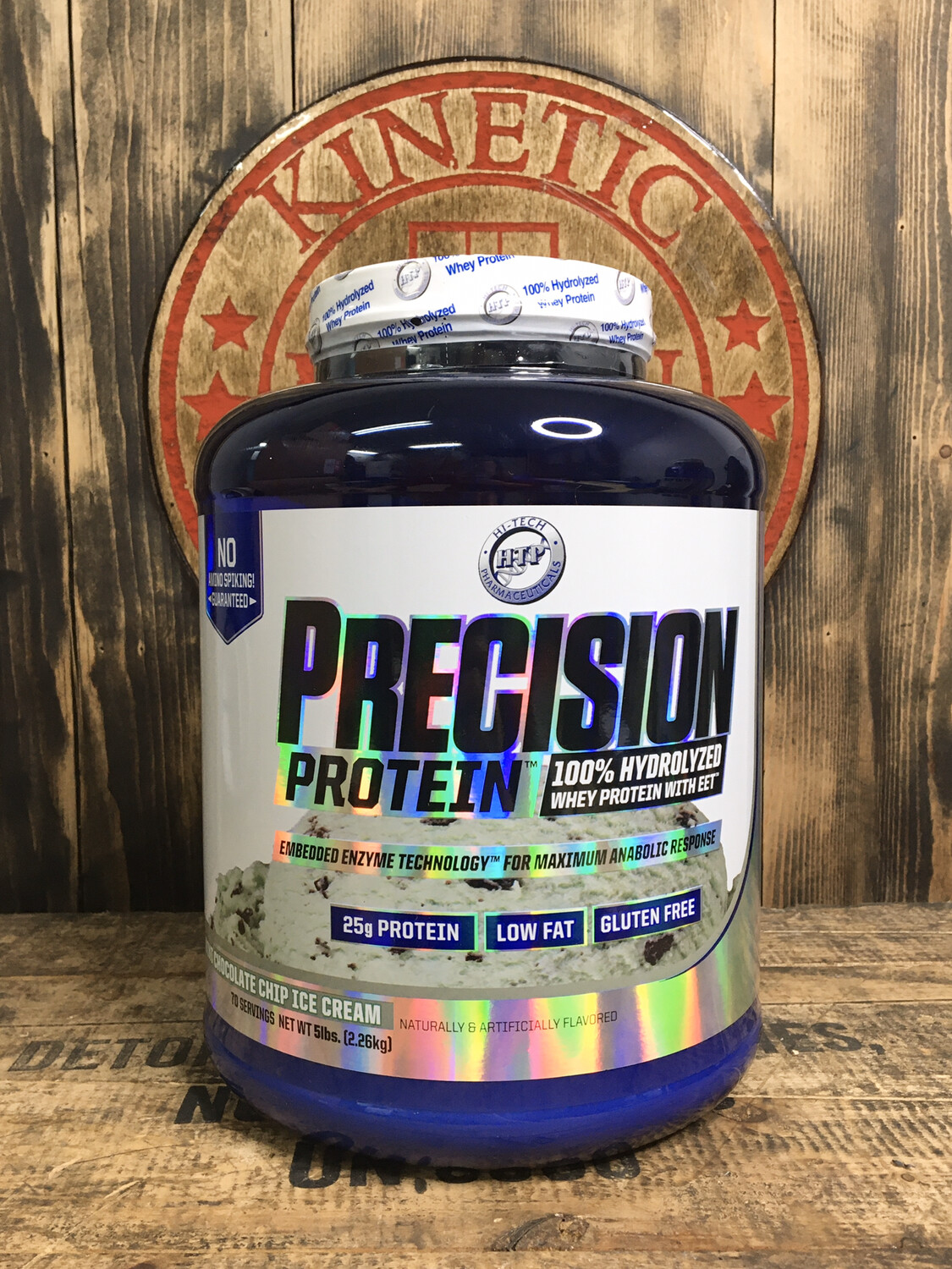 Htp, Precision Protein, 70 Servings, 5lb, Mint Chocolate Chip Ice Cream