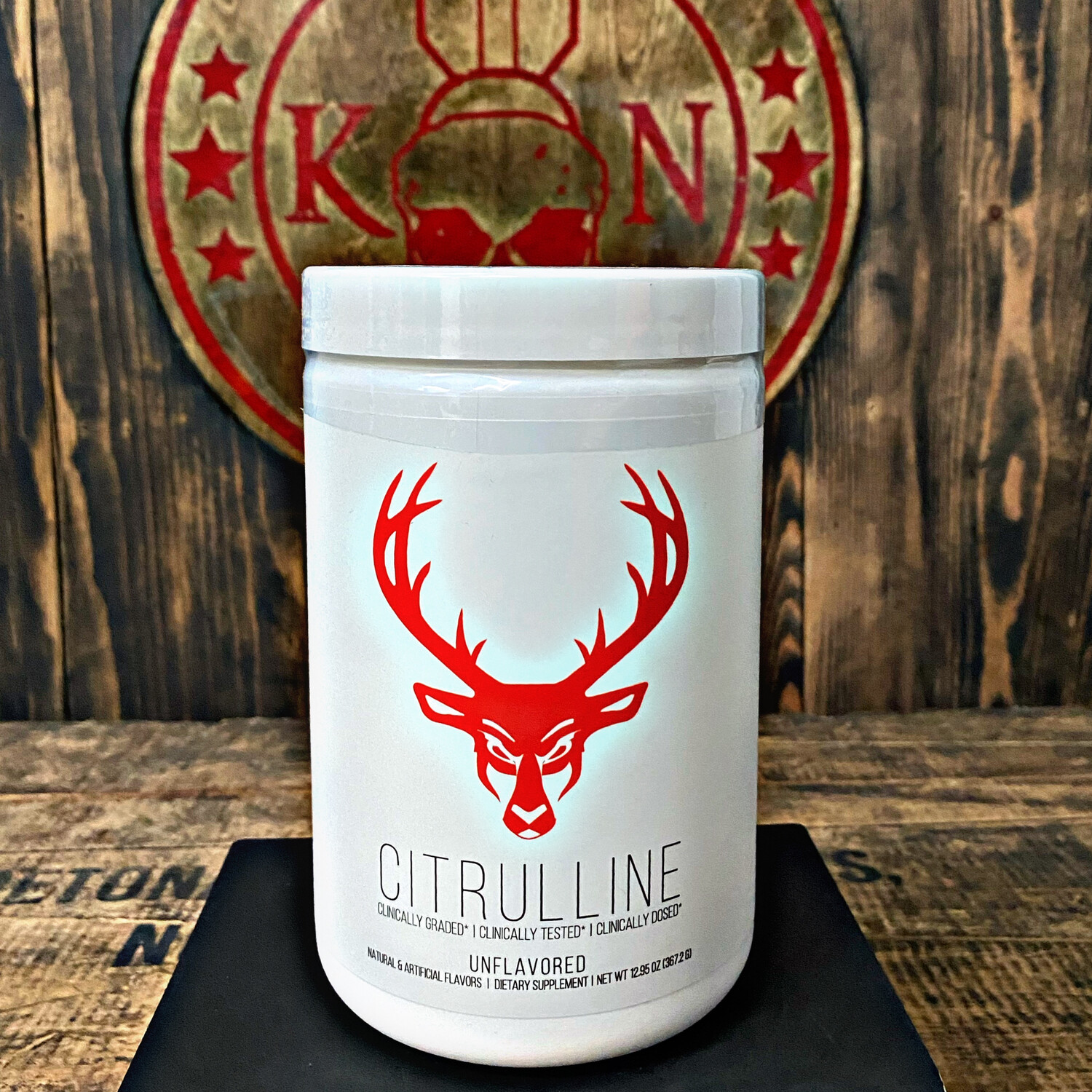 Bucked Up, Citruline, 60 Servings, Unflavored