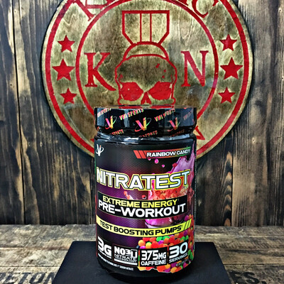 VMI, Nitratest, Pre-workout With Test Boosting Pumps, Rainbow Candy