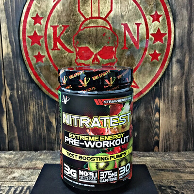 VMI, Nitratest, Pre-workout With Test Boosting Pumps, Strawberry Kiwi