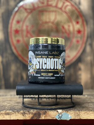 Insane Labz, Psychotic, Gold Gummy Candy