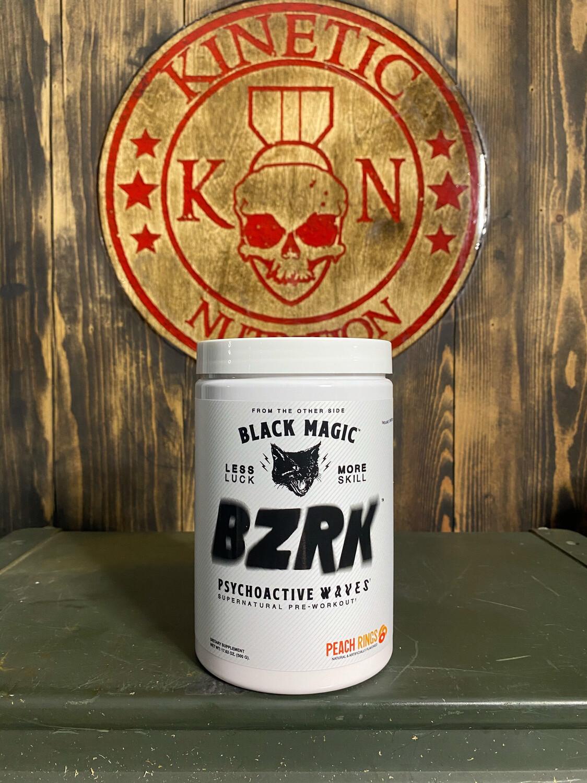 Black Magic, Bzrk, 25 Servings, Peach Rings
