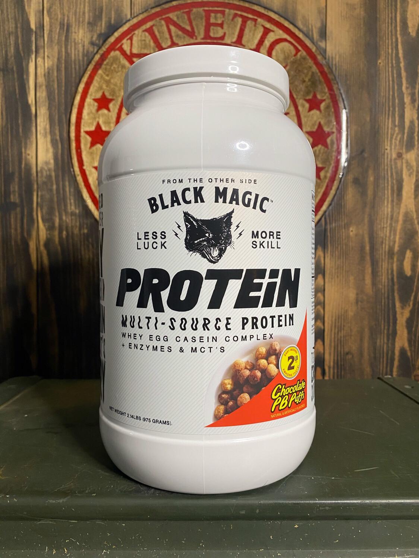 Black Magic, Multi-Source Protein, 25 Servings, 2Lb, Chocolate Pb Puffs