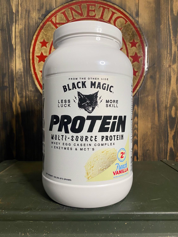 Black Magic, Multi-Source Protein, 25 Servings, 2Lb, French Vanilla
