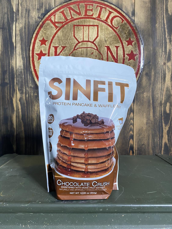 Sinfit, Pancake Mix, 6 Servings, Chocolate Crush