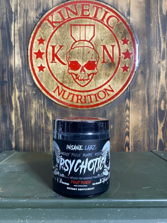 Insane Labz, Psychotic Black, 35 Servings, Fruit Punch