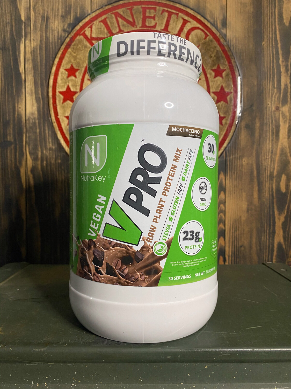 Nutrakey, Vpro Raw Plant Protein, 30 Servings, 2lb, Mochaccino