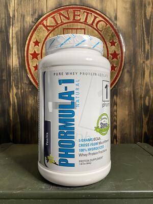 1st Phorm, Phormula-1, Natural Protein, 32 Servings, 2lb, Vanilla