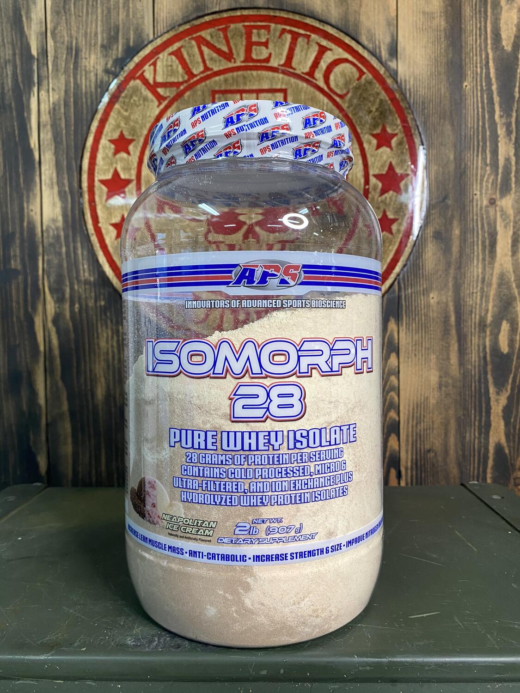 Aps, Isomorph, 28 Pure Whey Isolate, 27 Servings, 2Lb, Neapolitan Ice Cream