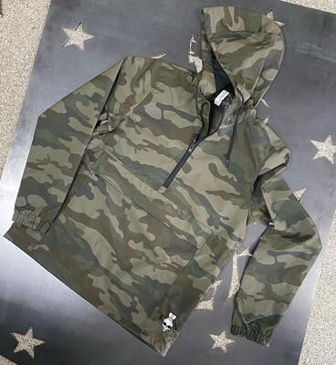 Overpressure Deflector Rain Jacket