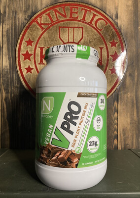 Nutrakey, Vpro Raw Plant Protein, 30 Servings, 2Lb Chocolate Bar