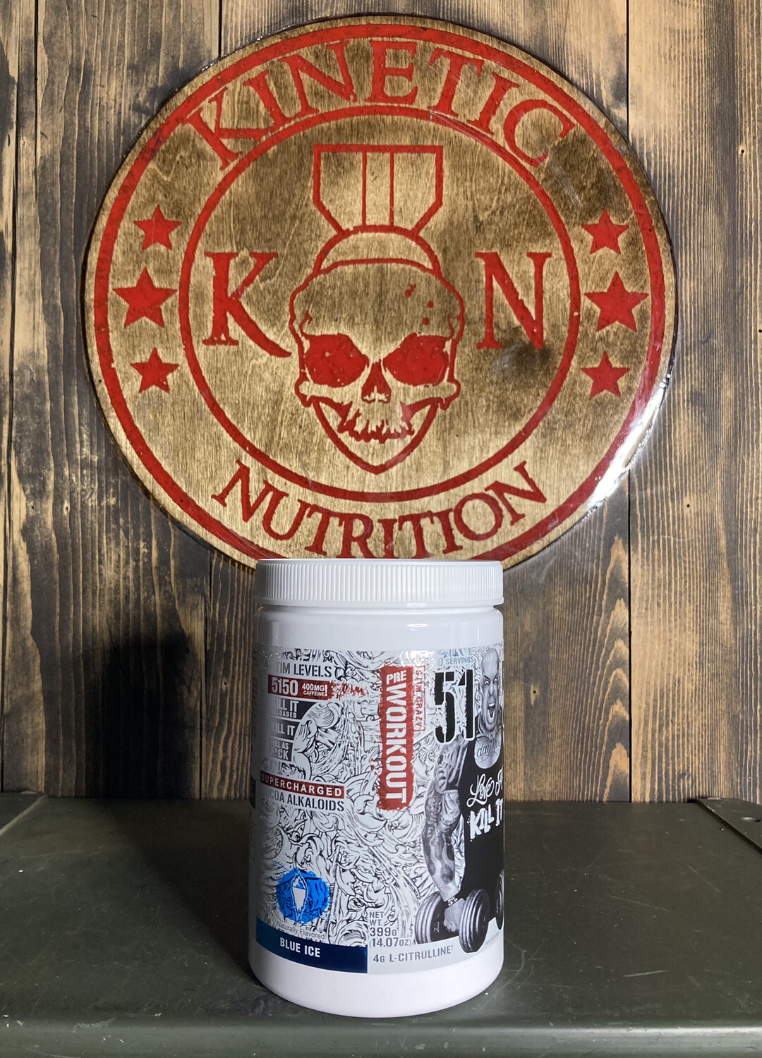 5% Nutrition, 5150, 30 Servings, Blue Ice