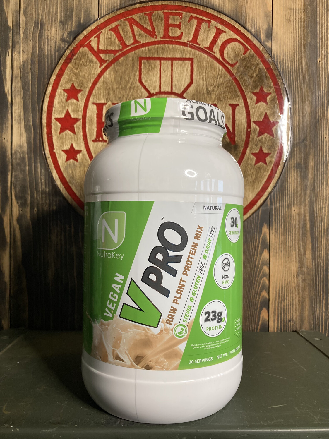 Nutrakey, Vpro Raw Plant Protein, 30 Servings, 2lb, Natural