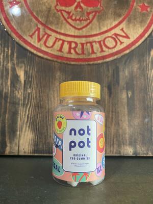 NOT POT, CBD Gummies, Original, 30 Servings