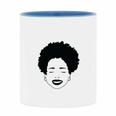 Freeform Afro Logo Mug