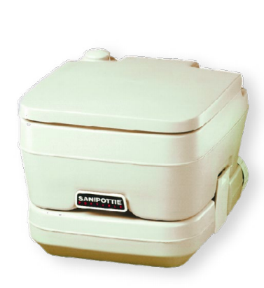 Pump-Out Toilet Kit with 2.5 Gallon Tank